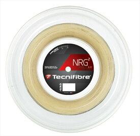 『即日出荷』「新パッケージ」Tecnifibre(テクニファイバー)「NRG2(エヌアールジースクエア) 200mロール TFR905」硬式テニスストリング(ガット)【kpi24】「あす楽対応」