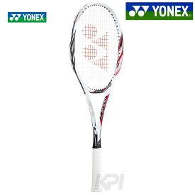 【エントリーでポイント10倍▼11/1〜】YONEX(ヨネックス)「ジーエスアール7(GSR7) ホワイト×レッド GSR7-114」ソフトテニスラケット