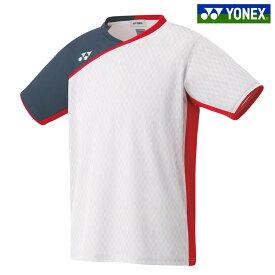 「あす楽対応」ヨネックス YONEX バドミントンウェア メンズ ゲームシャツ(フィットスタイル) 10260 バドミントン日本代表チームモデル 2018FW[ポスト投函便対応] 『即日出荷』