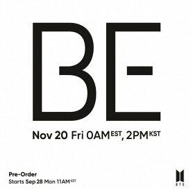 送料無料 当店限定特典付き 防弾少年団 BTS アルバム【BE (Deluxe Edition) 】バンタン / 韓国音楽チャート反映/1次予約