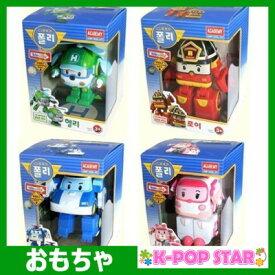 ロボカー ポリー 変身ロボット 4種セット【ポリー + ロイ + アンバー + ヘリー】