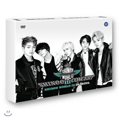 "The 3rd Concert ""SHINee World III in Seoul"" (2DVDs + フォトブック)(韓国盤) [DVD] SHINee"
