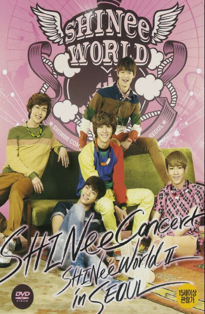The 2nd Concert SHINee World 2 in Seoul DVD ( 2-disc + フォトカード) (韓国盤)