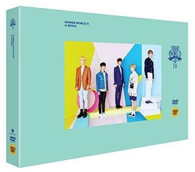 SHINee World IV (2DVDs + ポストカードブック) (韓国盤) SHINee (シャイニー)