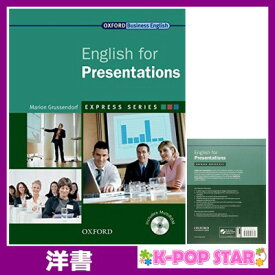 洋書(ORIGINAL) / English for Presentations (Oxford Business English) / Marion Grussendorf