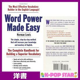 洋書(ORIGINAL) / Word Power Made Easy: The Complete Handbook for Building a Superior Vocabulary / Norman Lewis