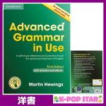洋書(ORIGINAL)/AdvancedGrammarinUseBookwithAnswersandInteractiveeBook:ASelf-studyReferenceandPracticeBookforAdvancedLearnersofEnglish(CambridgeAdvancedGrammarinUse)