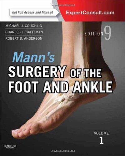 洋書(ORIGINAL) / Mann's Surgery of the Foot and Ankle, 2-Volume Set: Expert Consult: Online and Print, 9e