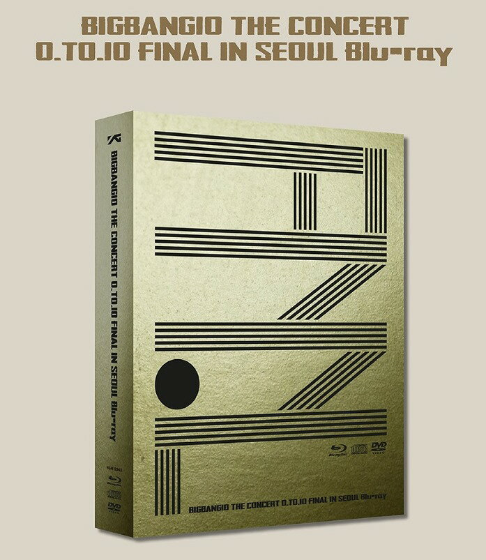 BIGBANG10 THE CONCERT 0.TO.10 FINAL IN SEOUL(2Blu-ray+1DVD+2CD+Photobook) Live