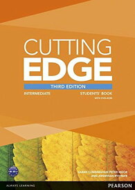 洋書(ORIGINAL) /Cutting Edge Intermediate (3E) Student book + DVD-ROM (英語)