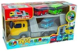 [SET] Tayo The Little Bus ちびっこバス タヨ Carry and Tayo Friends 4Pcs Set キャリーとお友達 4ピース セット (キャリー/タヨ/ロギ/ガニ) [並行輸入品]