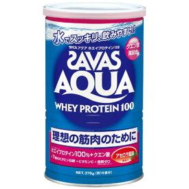 明治製菓 ザバス(SAVAS)アクアホエイプロテイン100 アセロラ風味(無果汁) 378g