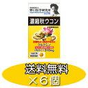 【送料無料/セット割】野口医学研究所 濃縮秋ウコン60粒×6個