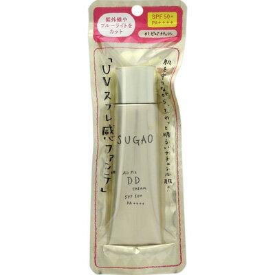 ロート製薬 SUGAO エアーフィットDDクリーム ピュアナチュラル(明るい肌色) 25g