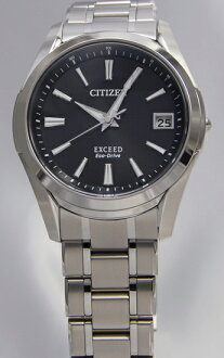 Citizen exceed eco-drive radio clock EBG74-2931