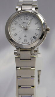 Citizen cross sea ecodrive radio time signal Lady's ES6000-50A