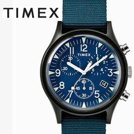 タイメックス TIMEX MK1 アルミニウム クロノ ネイビー TW2R67600 正規品【数量限定特価】