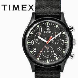 タイメックス TIMEX MK1 アルミニウム クロノ ブラック TW2R67700 正規品【数量限定特価】