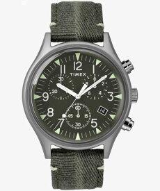 タイメックス TIMEX MK1 スチール クロノ 42mm オリーブ TW2R68600 正規品【数量限定特価】