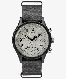 タイメックス TIMEX MK1 アルミニウム クロノ グレー TW2T10900 正規品【数量限定特価】