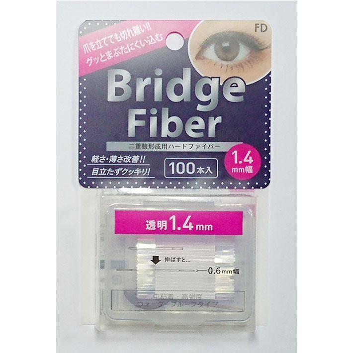 【送料無料】 二重テープ アイテープ 二重まぶたテープ クセ付け アイプチ ブリッジファイバー2 二重ファイバー [透明 1.4mm] 形成 ふたえ まぶた シール 眼瞼 下垂 防止 引き上げ アイライン 05P05Nov16