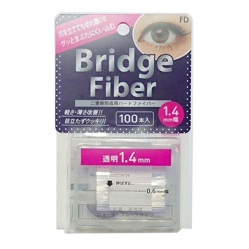 【送料無料】 二重テープ アイテープ 二重まぶたテープ クセ付け アイプチ ブリッジファイバー2 二重ファイバー [透明 1.4mm] 形成 ふたえ まぶた シール 眼瞼 下垂 防止 引き上げ アイライン