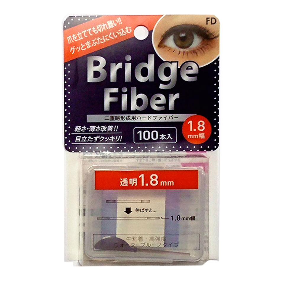 【送料無料】 二重テープ アイテープ 二重まぶたテープ クセ付け アイプチ ブリッジファイバー2 二重ファイバー [透明 1.8mm] 形成 ふたえ まぶた シール 眼瞼 下垂 防止 引き上げ アイライン