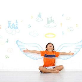 ウォールステッカー 子供部屋 [天使の羽] 雲 ウォールステッカー 北欧 ウォールステッカー 木 ウォールステッカー 天使の羽 ウォールステッカー 壁紙 ウォールステッカー トイレ