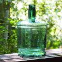 巨大なガラス瓶 容器レトロ アンティーク 雑貨 酒 醤油大正頃【中古】 古民家 古民具 古道具JAPAN japanese antique …