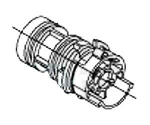 【TOTO】スペーサー部 926102W サーモスタット混合栓取り替えパーツ シャワー金具・バス水栓 メール便送料無料