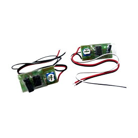 ストロボ フラッシュ キット 2個セット 12V 点滅スピード調整可能 ポジション LEDテープ 割り込ませるだけ 簡単取付 内装品 ドレスアップ カスタムパーツ ◆_45208