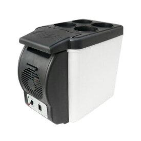 車載 冷蔵庫 保温庫 6L 軽量1.8k 保冷温庫 小型 ポータブル シガー電源 12V ミニ冷蔵庫 保温庫 保冷ボックス 保温ボックス カー用品 _45322