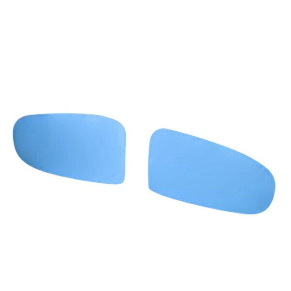 プリウス 30系 前期 後期 ドアミラー ブルーミラーレンズ 左右2枚 サイドミラーレンズ 青 広角 防眩 紫外線カット 外装 パーツ _53116