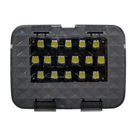 ホンダ ジェイド 専用 高輝度 SMD 24連 6000K LED ラゲッジルームランプ 増設キット クリアブラックレンズ タッチセンサー 全グレード対応 純白荷室 トランク アウトドア 釣り 照明 室内灯 _57137