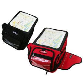 タンクバッグ バイク 大容量 ツーリングバッグ 強力マグネット レインカバー付き タンクバック ツールバッグ レッド 赤 ブラック 黒 バイク用 通勤 通学 クリアポケット 地図 A4 ショルダー 手さげ @a598