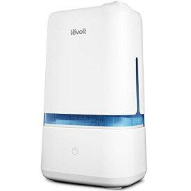 加湿器 超音波 次亜塩素酸水対応 4L 大容量 Levoit 40時間連続加湿 22畳対応 アロマ対応 人気ランキング 【令和最新モデル】 3段階の
