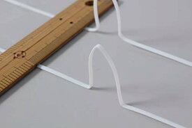 フルータス 形状保持プラスチック芯材 ワイヤー 長さ4m 幅3mm 厚み1mm 2mカット2本