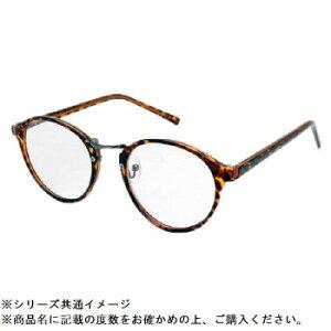 RESA レサ 老眼鏡に見えない 40代からのスマホ老眼鏡 丸メガネタイプ ブラウンデミ RS-09-1