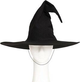 【即納!】クラシカルウィッチ帽 848219 ハロウィン コスプレ 魔女帽子 クリアストーン
