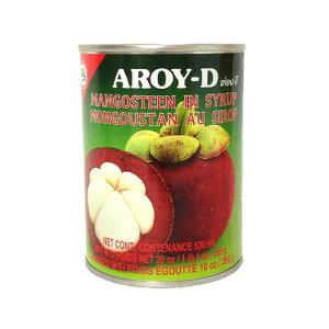 マンゴスチン マンクッ アロイーディー 565g 【大人気 タイフルーツ タイ料理の後にはコレ!】 AROY-D 果物の女王 マンクット