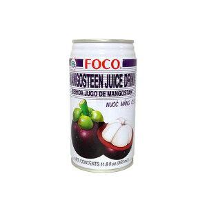 マンゴスチン ドリンク ナムマンクッ フォコ 350ml 【大人気 タイジュース タイドリンク】 【タイ輸入食材 タイ料理と一緒に!】 FOCO マンクット 果物の女王