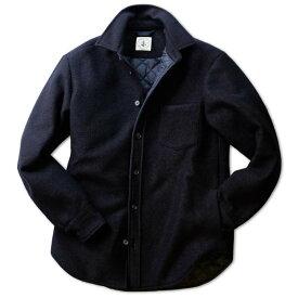 ORIAN オリアン ウール+キルティング シャツジャケット【イタリア製】【送料無料】