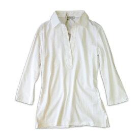 ROSSO35 ロッソ35 カットソー 7部袖スキッパーシャツ【春夏】【送料無料】