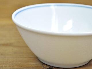 藍common菱市松11cm小鉢[ボウル薄い軽い白磁]