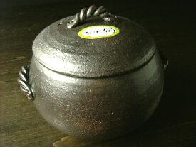 萬古焼 みすずのご飯鍋 3合炊き [ ご飯釜 調理器 日本製 ]