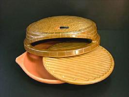 萬古焼白峰陶器ピザ窯ピッツェリアPIZZERIA[家庭用ピザ釜ピザオーブン日本製直火専用]