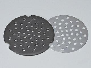 IH対応陶製プレートとステンレスIHプレート