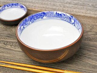 茶サビ深小鉢[ボール][アウトレット][訳あり特価品]