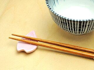 ピンク花びら箸置き[桜型/花型]