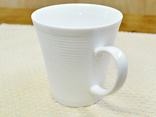 ラッフルマグカップ[コーヒーカップティーカップ白い白磁日本製]
